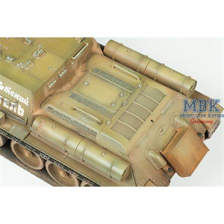 Su-85 Soviet Self propelled Gun   1/35