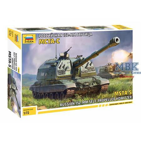 2S19 MST Russian SPG Howitzer 1/72