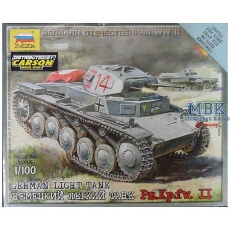 1:100 WWII dt. Panzer II