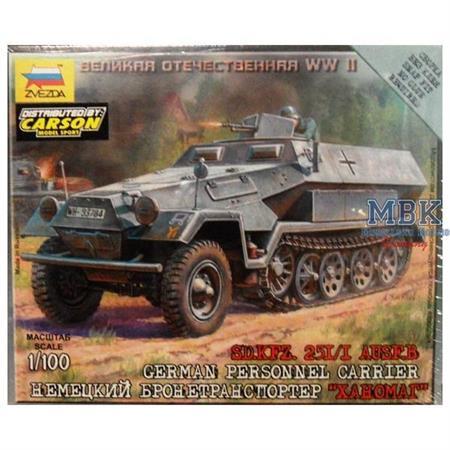 1:100 WW2 Sd.Kfz. 251/1 Ausf. B