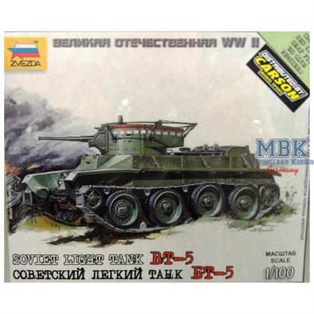 1:100 WW2 Sov. BT-5
