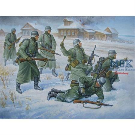 1:72 Deutsche Infanterie (Winteruniform)