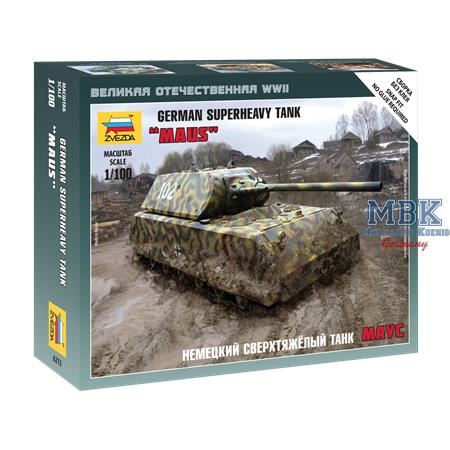 "1:100 German Superheavy Tank ""Maus"""
