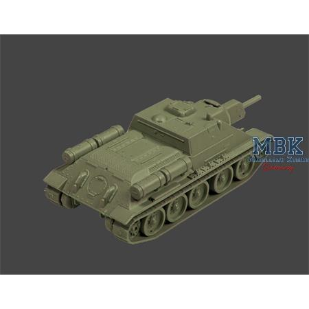 1:100 Soviet self-propelled gun SU-122
