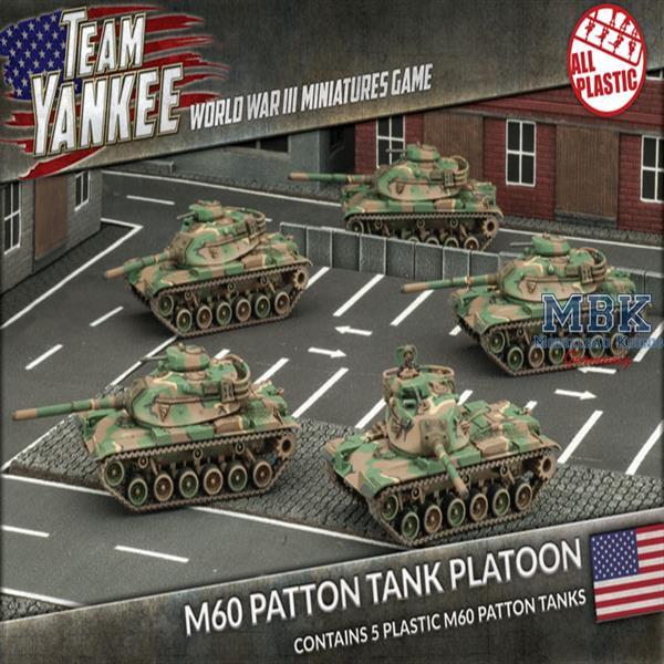 a6bbba78fa9e Team Yankee  M60 Patton Tank Platoon