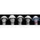 5 Heads British, British helmet with camouflage