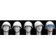 5 Heads US M1 plain Steel Helmet