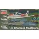 Piper Cherokee floatplane