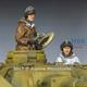 Waffen SS Panzer Crew Winter Set   2 Fig.