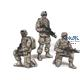 US Army Infantry Squad 2nd Division (3 Figures)