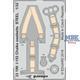 Polikarpov I-153 Chaika seatbelts STEEL  1/32