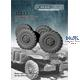 Dodge WC directional tire wheels