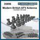 Modern British AFV antenna bases