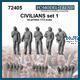 Civilians / Zivilisten Set 1 (1:72)