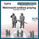 Wehrmacht soldiers praying (1:72)