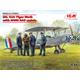 DH. 82A Tiger Moth with WWII RAF cadets