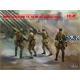WWII Soviet BM-13-16 MLRS Vehicle Crew (4 figures)