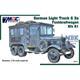German Light Truck G3 Funkkraftwagen Kfz 61