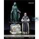Statue & Monk