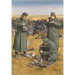 Chow Time - German AT gun crew with 3,7cm PaK35/36