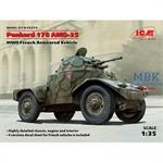 Panhard 178 AMD-35, WWII French Armored Vehicle