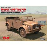 Horch 108 Typ 40, WWII German Personnel Car