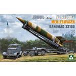 Meillerwagen + V-2 Rocket + Hanomag SS100